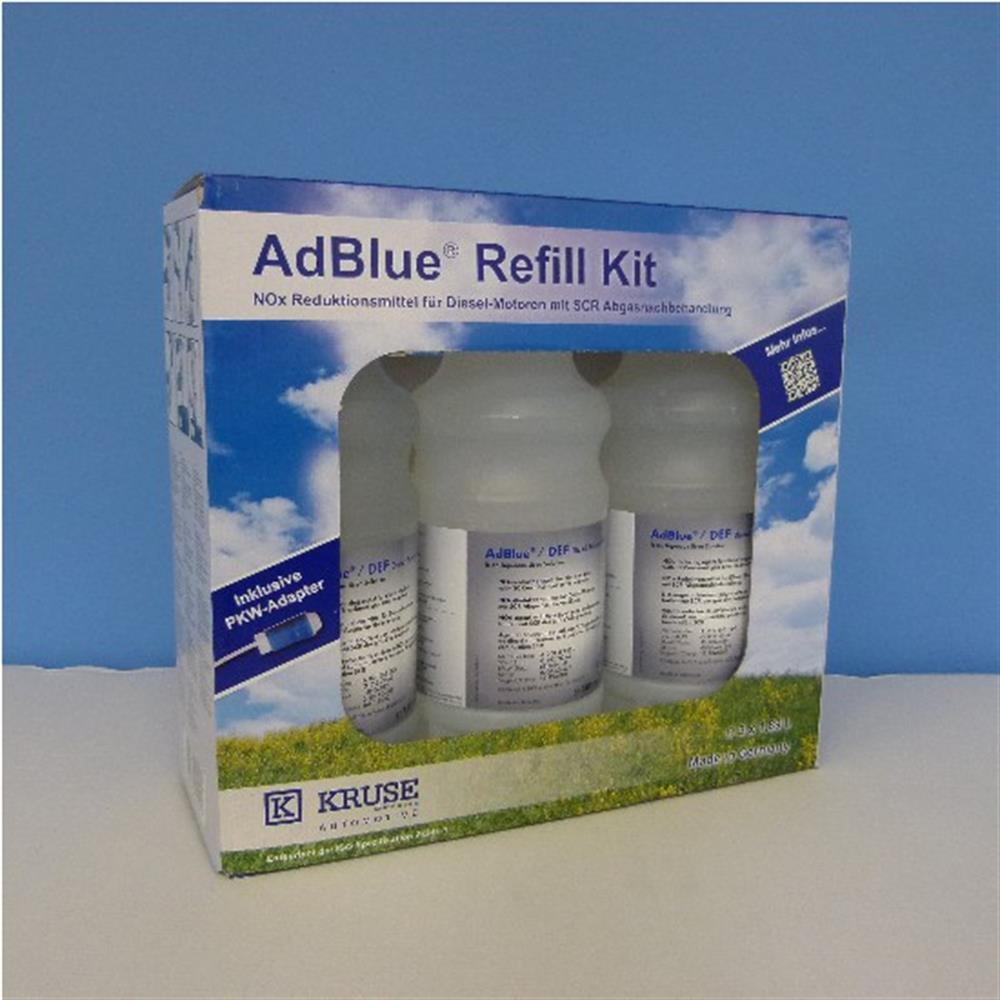 kruse 393735 adblue refill kit 3 x 1 89 liter. Black Bedroom Furniture Sets. Home Design Ideas