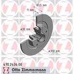 Zimmermann BS RENAULT inkl. Lagersatz