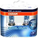 OSRAM Cool Blue Intense Glühlampe 2er Set H4 12 V 60/55 W P43t