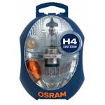 OSRAM Ersatzlampenbox Glühlampe 6er Set H4 12 V 60/55 W