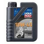 LIQUI MOLY Motorbike 4T 10W-40 Basic Offroad Motoröl 1 Liter
