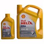 5 Liter + 1 Liter Shell Helix HX6 10W-40 Motorenöl