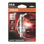 OSRAM Night Breaker Unlimited Glühlampe H4 12 V 60/55 W P43t