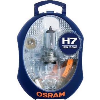OSRAM Ersatzlampenbox Glühlampe 6er Set H7 12 V 55 W